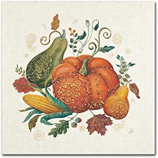 Spice Season VIII by Daphne Brissonnet, 18x18-Inch Canvas Wall Art