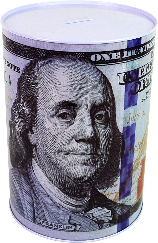 COLIBROX $100 Dollar Bill Piggy Bank 8.5