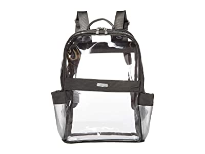 Baggallini Clear Event Compliant Medium Backpack (Charcoal) Backpack Bags