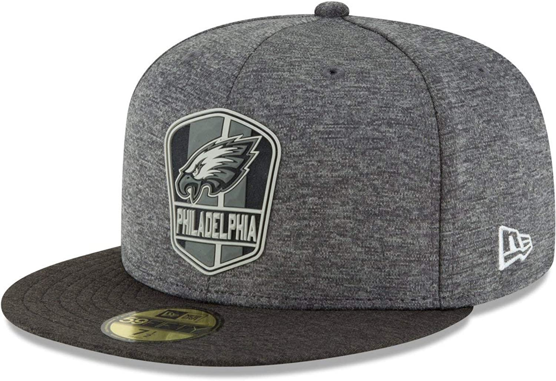 New Era 59Fifty Cap - Black Sideline Philadelphia Eagles