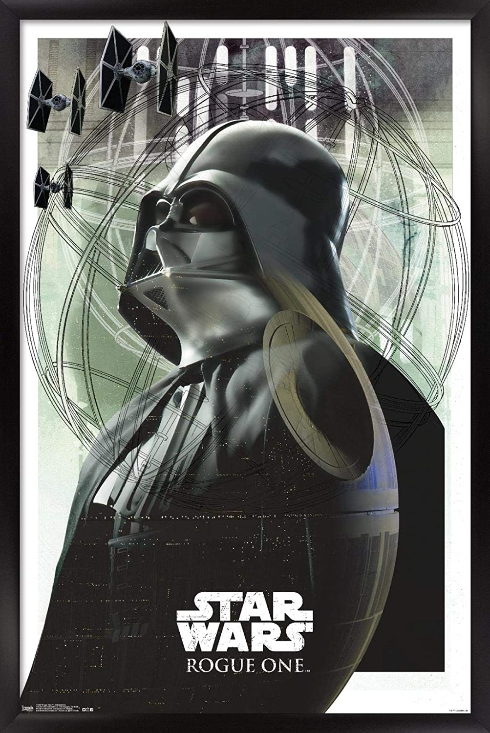 Trends Special price for a limited time International Elegant Wall Poster Star Wars One Rogue Intimidatio