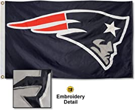 WinCraft New England Patriots Embroidered Nylon Flag