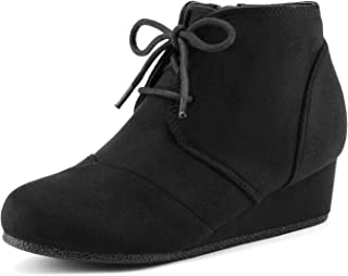 Toddler/Little Kid/Big Kid Girl's Low Wedge Heel Booties Shoes