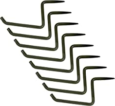 Ameristep Tree Steps 8-Pack | Self-Tapping Screw Mount for Climbing to Tree Stands | Available in 2-Inch and 4-Inch Sizes