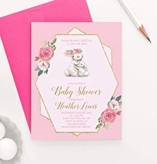 Best bunny baby shower invitations Reviews
