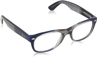Ray Ban RB5184 5516 Eyeglasses Blue Square 50mm