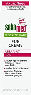 sebamed Trockene Haut Fusscreme Urea Akut 10% 100 ml, lindert spürbar Juckreiz, Spannungsgefühl und Rissigkeit und hilft, die natürliche Feuchtigkeitsbalance der Haut wieder herzustellen