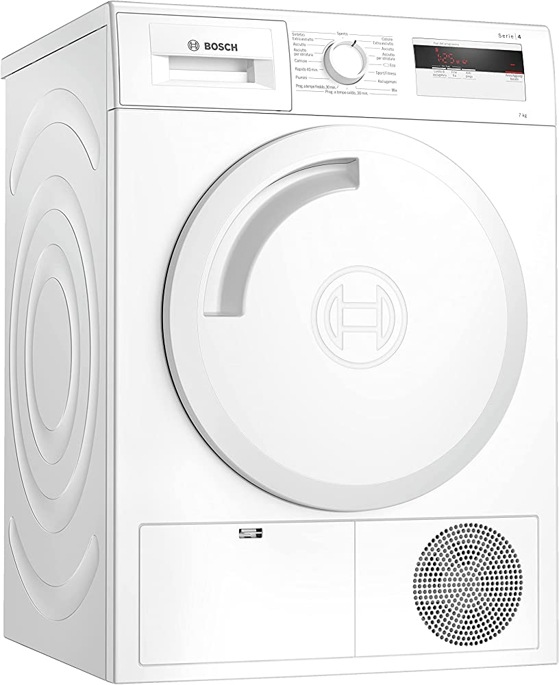 Bosch elettrodomestici, asciugatrice a pompa di calore da 7 kg, classe energetica a+ WTH83007II