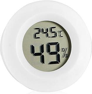 Zerodis Température Numérique Humidité Compteur pour Lézard/Araignée/Tortue/Terrarium Hygromètre et Thermomètre