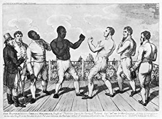 Boxing Cribb V Molineaux Nthomas Molineaux (African-American Left) And Thomas Cribb (Englishman) In The 11-Round Contest At Thistleton Gap England Won By Cribb In 19 Minutes Ten Seconds On 28 Septembe