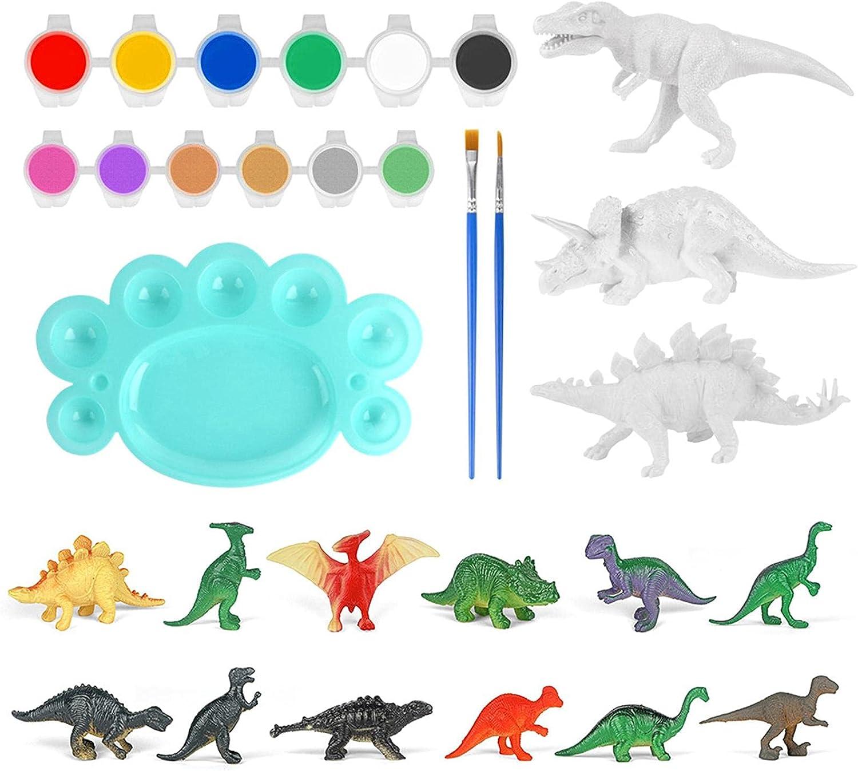 Mona43Henry Kids Crafts San Antonio Mall and Arts specialty shop Dinosaur Kit Painting Set DIY