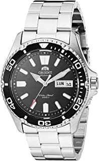 Orient Japanese Automatic Sport Watch with Stainless Steel Strap, Silver, 21 (Model: SAA0200AB9)