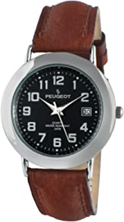Peugeot Women Nurses Calendar Watch - Easy Reader with Arabic Numerals