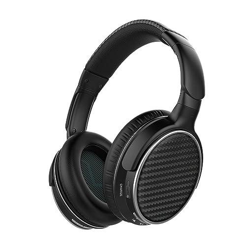 Mixcder HD401 Auriculares Bluetooth con Tecnología APTX-Latencia Cero, Cascos Inalambricos con Manos Libres