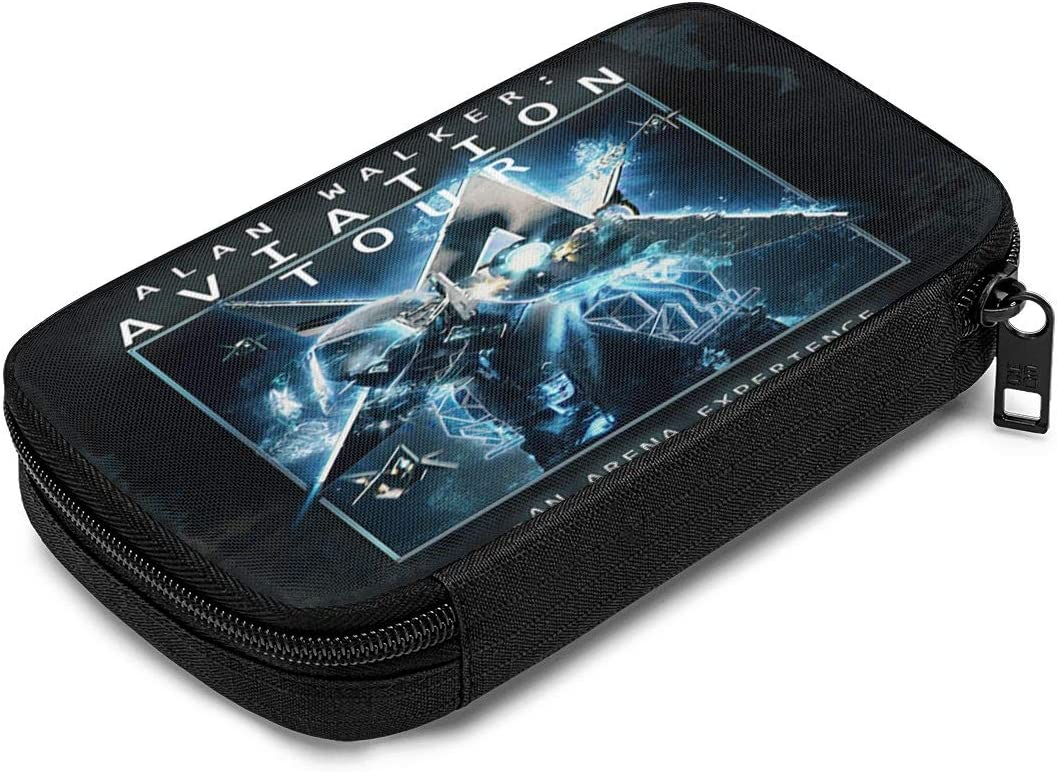 Zengqinglove Alan Walker Stylish Data Cable Charger Cable Earphone Cable Storage Bag