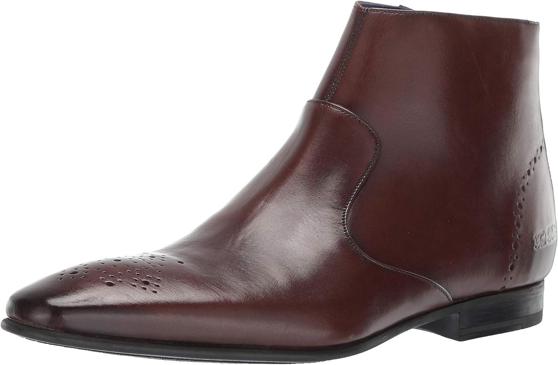 Ted Baker Men's Visthh Fashion Boot Brown Leather 12 Medium US
