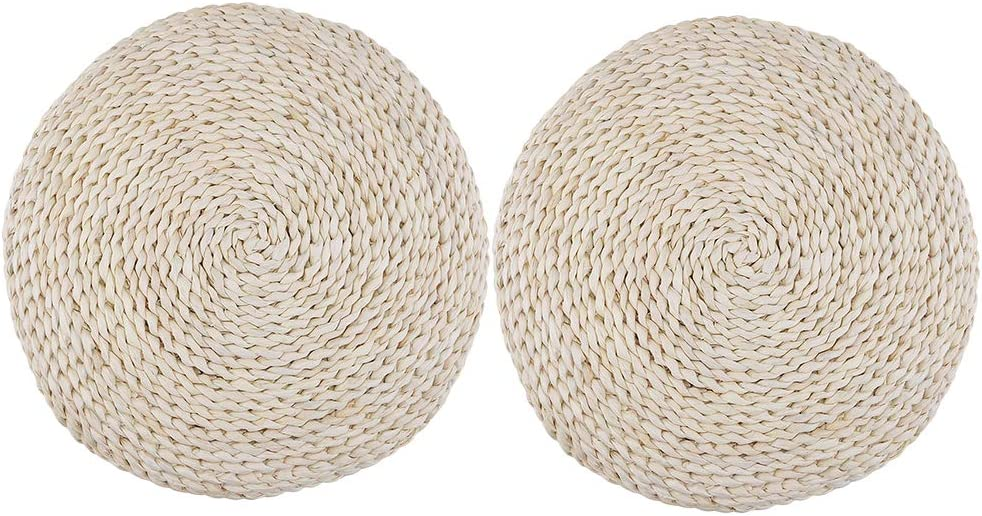 chiwanji 2X Breathable Handmade Straw Cushion New York Mall Mat Ranking TOP19 Window Breatha