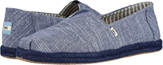 Toms Chambray Classics, Men's Fashion Casual Slip On Shoes