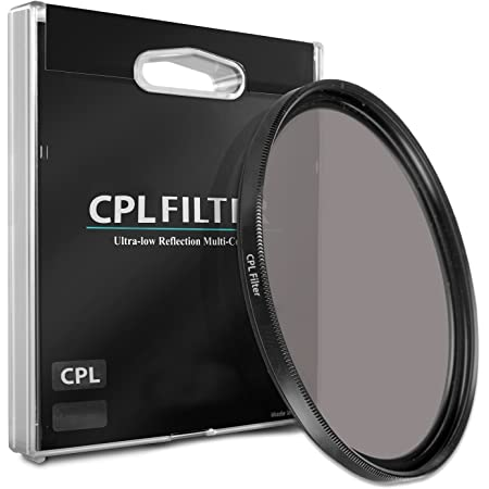 C-PL Circular Polarizer Multicoated For Sony SLT-A65 Multithreaded Glass Filter 55mm
