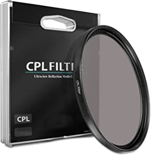 43mm CPL Circular Polarizer Filter for 50mm f/1.4 Summilux M Asph. (Black Chrome) Lens