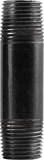 LDR Industries 300 12X212 Pipe Nipple, 1/2-Inch X 2-1/2-Inch, Black