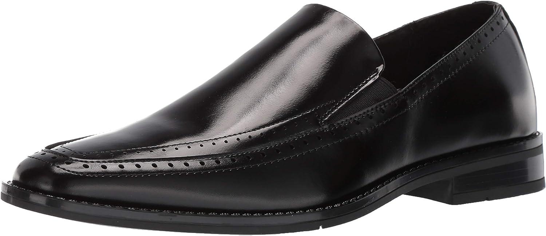 STACY ADAMS Men's Kelton Moc-Toe Slip-on Loafer