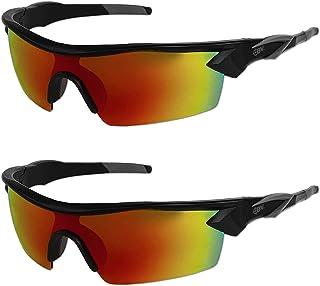 همانطور که در تماشای تلویزیون Battle Vision HD عینک آفتابی قطبی شده توسط Beom Atomic مشاهده می شود ، عینک آفتابی UV بلوک از چشم محافظت می کند و وضوح بینایی شما را ارائه می دهد