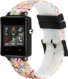 for Garmin Vivoactive Bands / Garmin Approach S2 S4 Bands Silicone Replacement Smart Wrist Watch Accessory Band Strap for ...