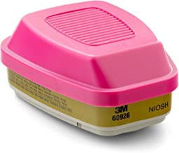 3M Multi Gas Vapor Cartridge, Filter 60926, P100 Respiratory Protection, 5 Sets of 2