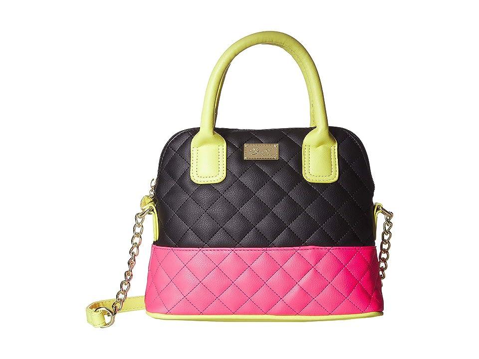 Luv Betsey Darcy Satchel (Neon) Satchel Handbags, Yellow
