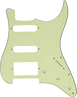 Kmise Z4906 HSS 3-Ply Guitar Pickguard Scratch Plate Mint Green for Fender Strat Replacement