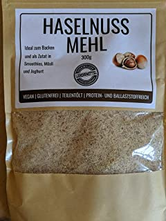 ak-colonia Haselnussmehl 300g zum Backen oder im Smoothie, Mehl aus Haselnüssen