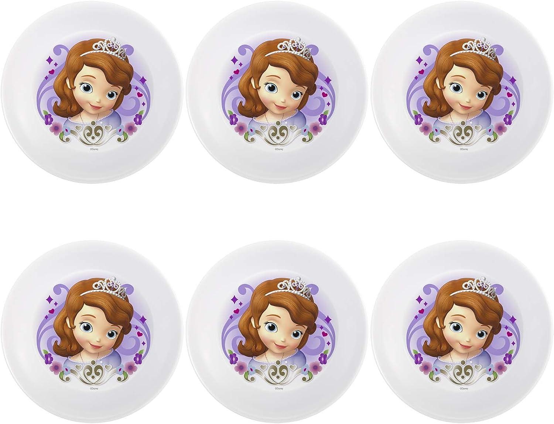 Zak Designs Disney's Sofia The 5.5-Inch Over item handling Se First Bowl low-pricing Melamine