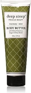 Deep Steep Rosemary Mint Body Butter Body Butter Cream 6 oz