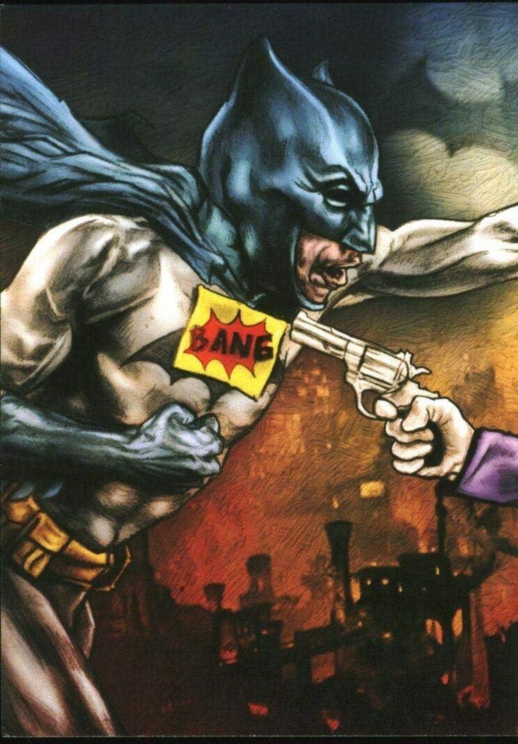Large-scale sale Batman Bam Pop Culture Artist Select 2 Card #999 Fan Art Number Washington Mall