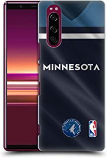 Official NBA Road Jersey 2018/19 Minnesota Timberwolves Hard Back Case Compatible for Sony Xperia 5