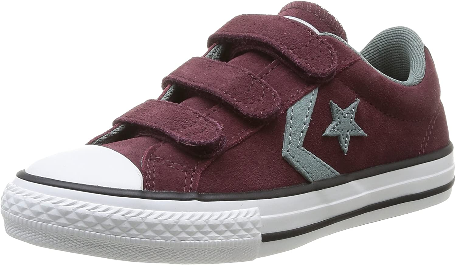 Converse Unisex Kids' Star Player Junior 3v Suede Ox Sneakers