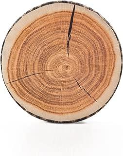 wood log floor