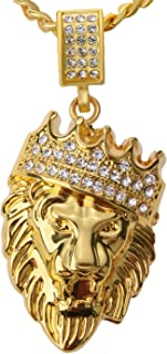 Best lion jewelry gold Reviews