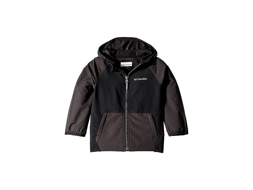 Columbia Kids Hidden Canyontm Softshell Jacket (Toddler) (Black) Boy