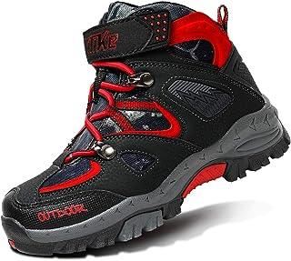 Zapatos de Senderismo Selva Chicos Caminando Senderismo Ligero al Aire Libre Zapatos Deportivos Botas Botas de Algodón par...