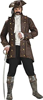 Forum Novelties Men's Buccaneer Jacket Pirate Costume