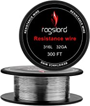 SS316L Wire - 32 AWG Gauge Spools 300 '