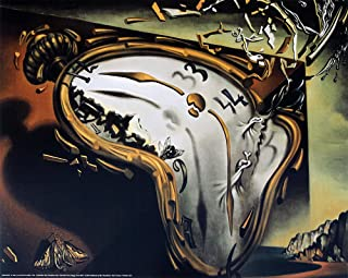 EuroGraphics The Melting Watch by Salvador Dali. Art Print Poster 19.75 x 15.75