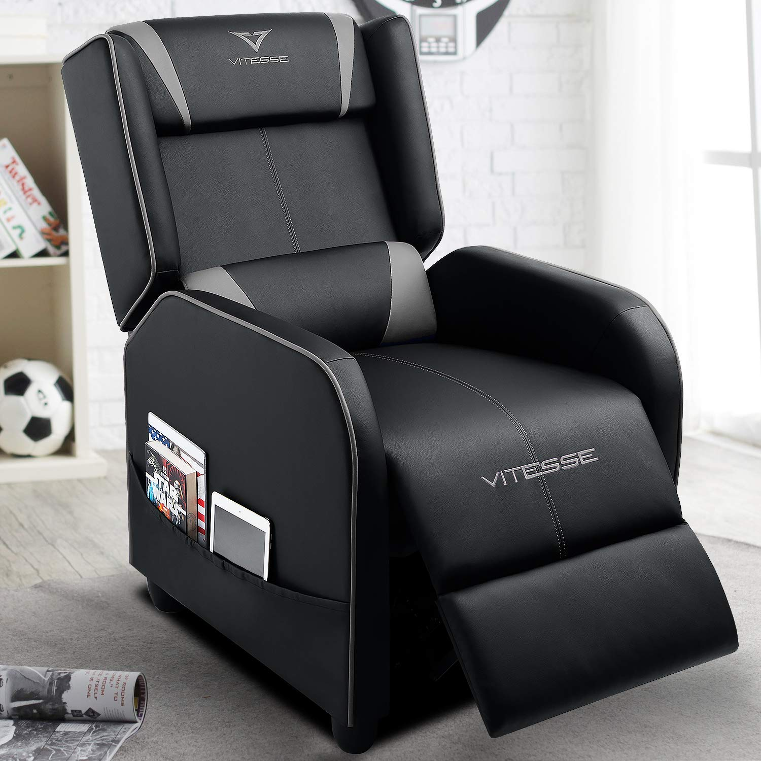 Recliner Leather Recliners Ergonomic Comfortable