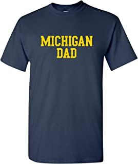 NCAA Dad Basic Block, Team Color T Shirt, College, University T-Shirt