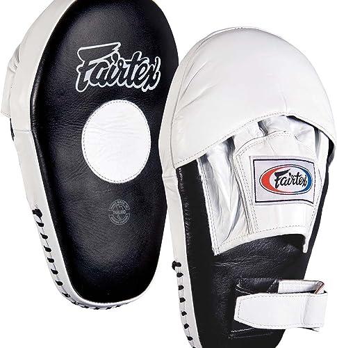 Fairtex Pro Angular Mitts, noir blanc