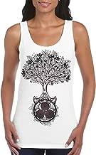 Tribal T-Shirts Celtic Spiral Tree of Life Large Print Women's Vest Tank Top