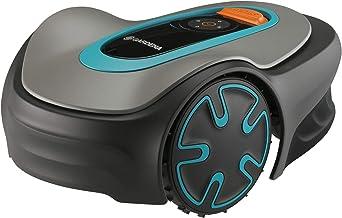 GARDENA SILENO mini-robotmaaier: programmeerbaar met app, snijdt oppervlakken tot 250 m², geluidsarm, past de snijtijden a...