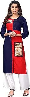 Vbuyz Women's Rayon Straight Kurti(VF-KU-483)